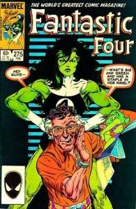 Fantastic Four #275 (written & drawn by John Byrne)