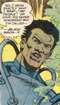 Black Manta Unmasked