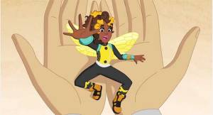 "Bumble is ""too young to be squished!""(from Episode 1: ""All About Super Hero High"""